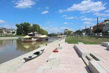 Ende einer Fahrt in Győr