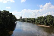 Blick auf den Somesch in Satu Mare.