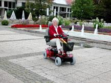 Elektromobil für Behinderte