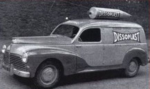 Peugeot 203 break DISSOPLAST   Caravane Tour de France 1954