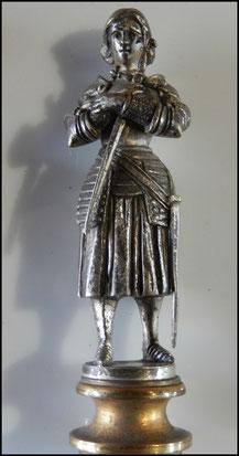 sceau à chacheter Jeanne d'arc