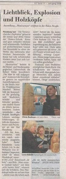 Flensburger Tageblatt 19.07.09, Seite 11