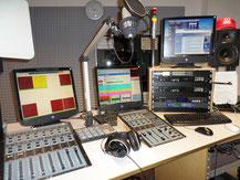 (Ein Blick ins Citystudio von radio leinehertz 106.5)
