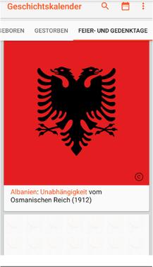 "Bild: App ""Geschichtskalender""."