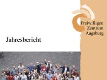 Freiwilligen-Zentrum Augsburg - Jahresbericht