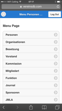Vereinsmanager Mobile