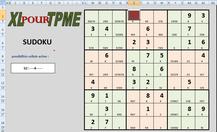 XLpourTPME : résolvez des Sudokus manuellement, seul ou avec de l'aide, ou laissez Excel résoudre pour vous