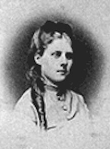 Marie Olga Batsch (neé Faltin) um 1870