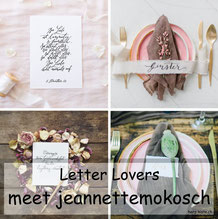 jeannettemokosch zu Gast im Lettering Interview bei den Letter Lovers mit einer Anleitung für eine schönere Handschrift