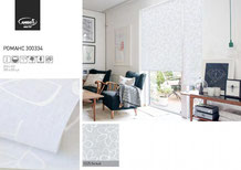 Рулонные шторы, ткань Романс
