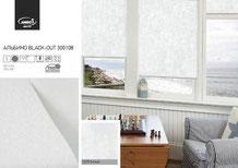 Рулонные шторы, ткань Альбино Блэкаут