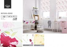 Рулонные шторы, ткань Версаль