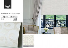 Рулонные шторы, ткань Верона Блэкаут