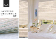 Рулонные шторы, ткань Мадрас Перла