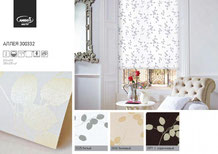 Рулонные шторы, ткань Аллея