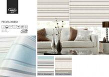 Рулонные шторы, ткань Регата