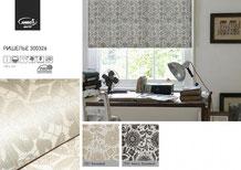 Рулонные шторы, ткань Ришелье
