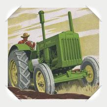 John Deere D Traktor