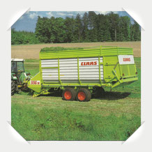 Claas Sprint Ladewagen