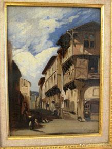 Rue de la rotade à Montferrand, 1833, Paul HUET