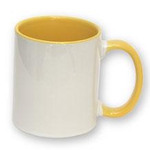"""Mug """"Jaune""""."""