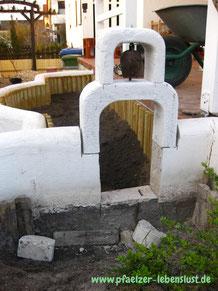 Griechienland Glockenturm Garten