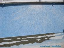 Wand Bild Gemälde Kunst kreativ Meer Himmel Armierungskleber Wellen