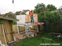 Aufbau Kinderhaus Stelzenhaus