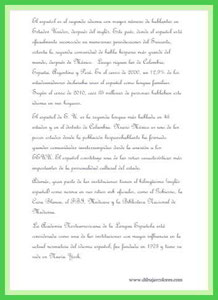 texto idioma 4