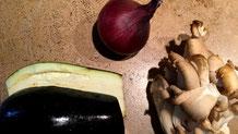 """fari4world - Kartoffelsalat """"Asiatisch"""" mit Aubergine und Kurkuma"""