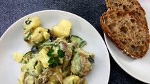 Kartoffelsalat - 3 mal anders - fairani