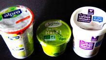 Vegane Joghurt-Alternativen