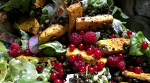 Fitness-Salat mit Tofustreifen