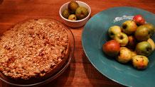 fair4world- Apfel-Mandel-Kuchen