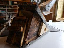 Unterseite des Dreieckskastens