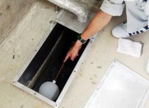消火水槽の点検|消火設備点検【新潟】