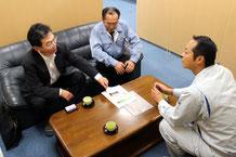 新潟市中央区のビル管理会社さまと消防設備点検のお打ち合わせ