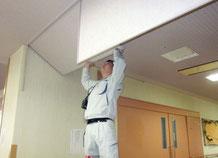 防煙垂れ壁の動作試験|防炎防煙設備点検【新潟】