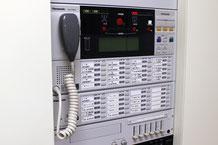 新潟市秋葉区の病院に設置された非常用放送設備