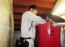 呼水槽の点検|消火設備点検【新潟】