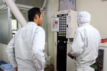 新潟市江南区の食品加工工場さまと消防設備点検のお打ち合わせ