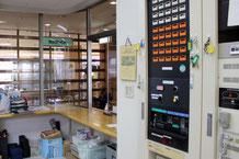新潟の介護老人保健施設に設置された火災報知設備受信機