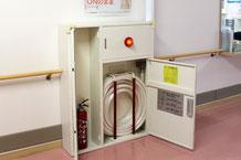 新潟市中央区の介護老人保健施設さまに設置されているスプリンクラー消火用補助散水栓