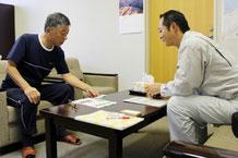 新潟の介護老人保健施設さまとの消防設備点検のお打ち合わせ