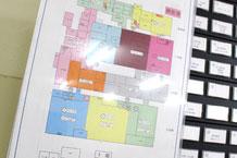 新潟市江南区の食品加工工場さまの防災マップ