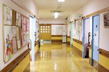 様々な消防設備が設置されている新潟市中央区の介護老人保健施設