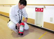 消火器 の外観点検|消火設備点検【新潟】