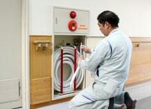 散水栓の点検|消火設備点検【新潟】