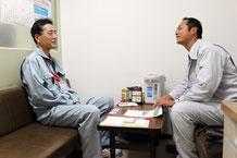 新潟市秋葉区の病院様との消防設備点検のお打ち合わせ