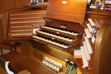 Spieltisch Orgel Stäfa
